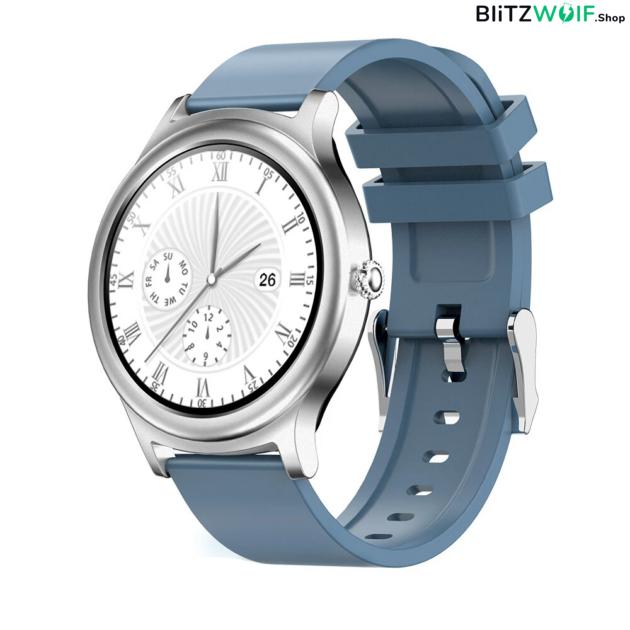 BlitzWolf BW-AH1: érintőkijelzős aktivitásmérő okosóra - Kék