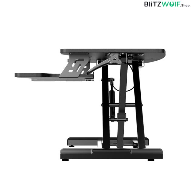 BlitzWolf® BW-ESD1: állítható magasságú pneumatikus emelőasztal fogantyúvezérléssel