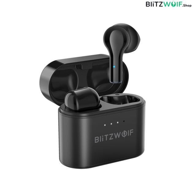 BlitzWolf® BW-FYE9: teljesen vezeték nélküli fülhallgató töltődobozzal