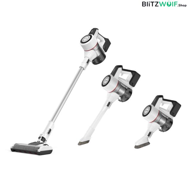 BlitzWolf ® BW-HC3: vezeték nélküli akkumulátoros állóporszívó - 22 000 PA