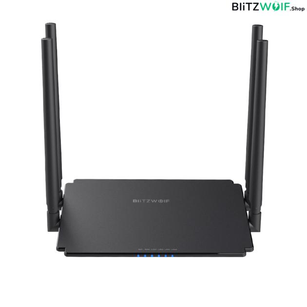 BlitzWolf® BW-NET1: Wireless Dual Band Gigabit router (1200 Mbps