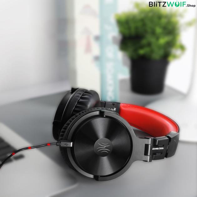 OneOdio Pro M: vezeték nélküli Gamer fejhallgató - Fekete