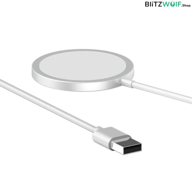 Bakeey: 15W mágneses Magsafe vezeték nélküli töltő iPhone-hoz