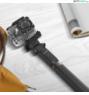 BlitzWolf® BW-BS5: 880mm hosszú multifunkciós selfie bot okostelefonhoz és kamerához - Fekete
