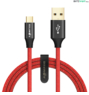BlitzWolf® Ampcore BW-MC9: Micro USB töltő- és adatkábel (2,5m)