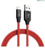 BlitzWolf® BW-MF10: Lightning töltő- és adatkábel (1,8m)