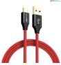 BlitzWolf® AmpCore Turbo BW-TC9: USB 3.0 Type-C töltő- és adatkábel (1m)